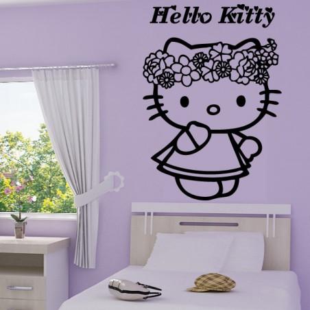 Hello Kitty Couronne de Fleurs