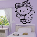 Sticker Hello Kitty et la cloche