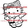 Sticker Hello Kitty et la cloche