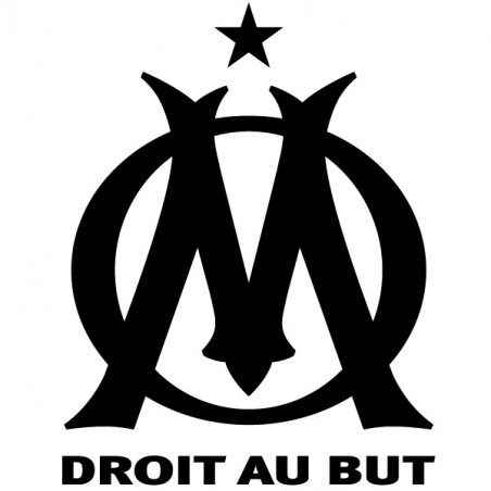 Sticker Logo Olympique de Marseille
