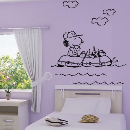Snoopy sur bateau