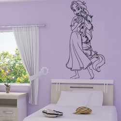 Sticker Raiponce Wall Disney