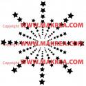 Sticker éclat d'étoiles