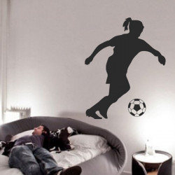 Sticker Footballeuse