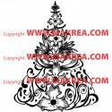 Sticker Sapin de Noël Tradition