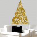 Sticker Sapin de Noël Baroque