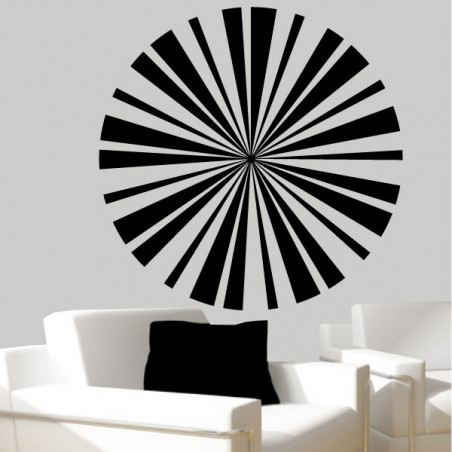 Sticker rayon de soleil 2