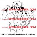 Sticker Pikachu - Pokémon 3