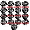 Sticker 17 roses 17x20cm