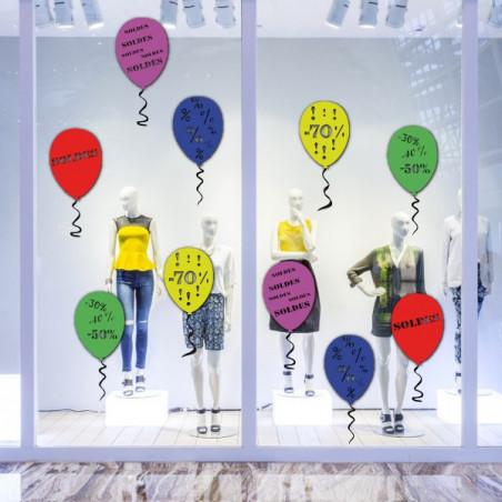 """vitrine """"pack SOLDES"""" Ballon"""