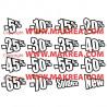"Sticker vitrine ""pack SOLDES"" pourcentages"