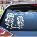 Sticker Bébé à Bord - Draculaura Baby