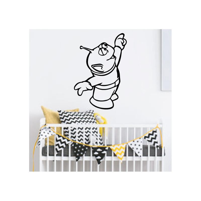Sticker Toy Story - Bully Alien 4