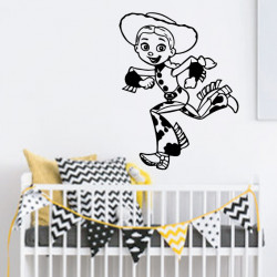 Sticker Toy Story - Jessy court