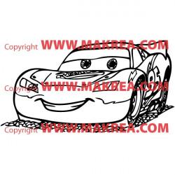 Sticker Voiture Cars 2