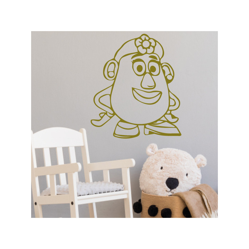 Sticker Toy Story - Madame Patate