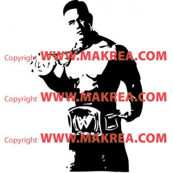 Sticker Catcheur John Cena