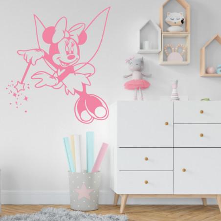 Sticker Minnie fée