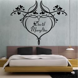 Coeur Design avec prénoms