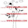 Stickers Ourson dans un arbre