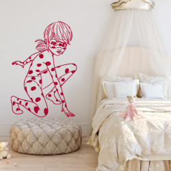 Sticker Miraculous - Ladybug