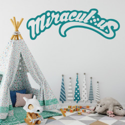 Sticker Miraculous - Logo