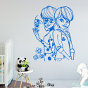 Sticker Miraculous - Ladybug et Marinette