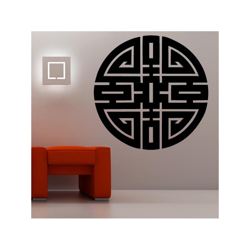 Sticker Symbole Chinois Longévité