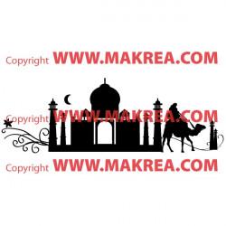 Sticker Palais oriental Silhouette