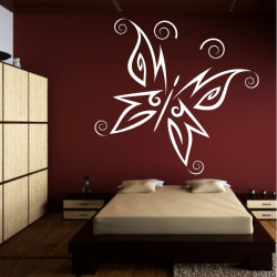 Sticker Papillon Design