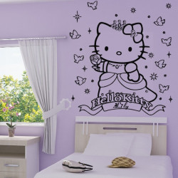 Sticker Hello Kitty Princesse 2