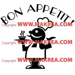 Sticker Cuisine - Bon Appétit