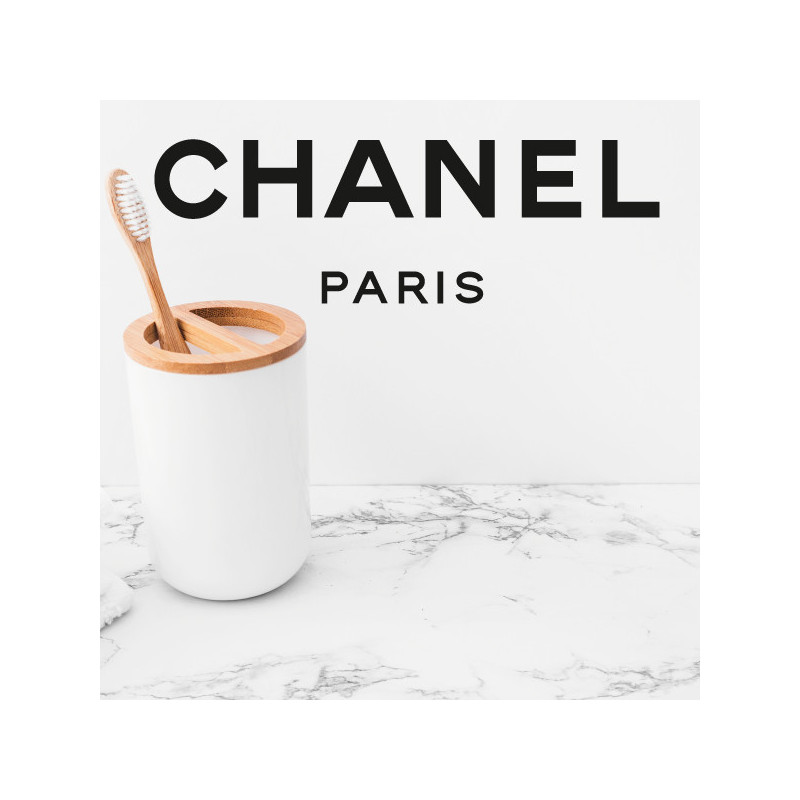 Sticker Logo Chanel Paris