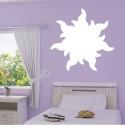 Sticker Fleur de soleil Plein - Raiponce Wall Disney