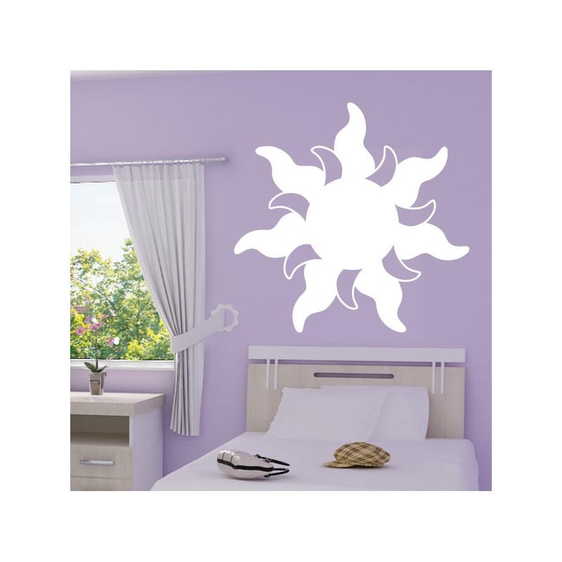 Sticker Fleur de soleil - Raiponce Wall Disney