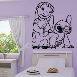 Sticker Lilo & Stitch