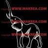 Sticker Eléphant