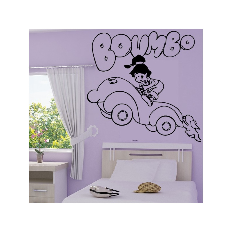 Sticker Boumbo la Petite Automobile 2