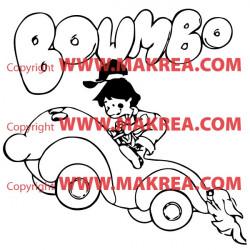 Sticker Boumbo la Petite Automobile 2
