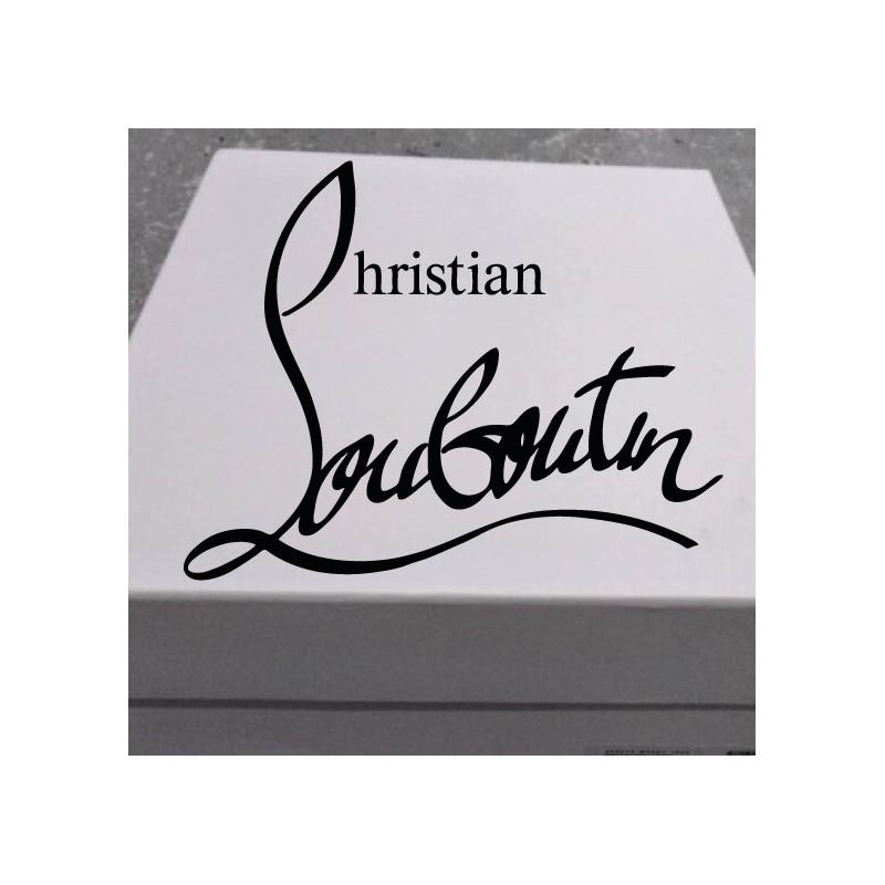 Sticker Logo Christian Louboutin