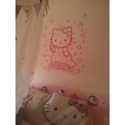 Sticker Hello Kitty Princesse 2