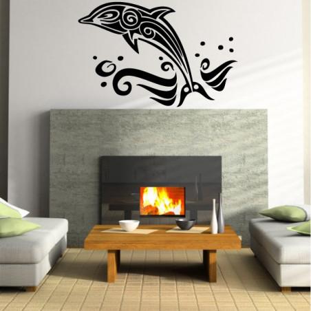 Sticker Dauphin Design 3