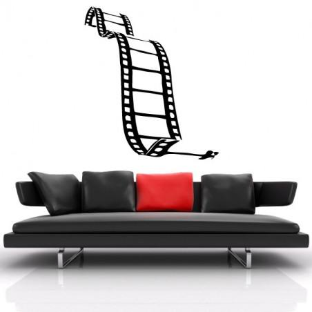 Bobine Film Cinéma se déroulant
