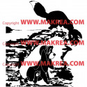 Sticker Rox et Rouky