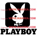 Sticker Logo Playboy
