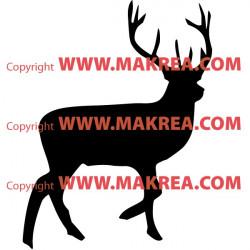 Sticker Cerf
