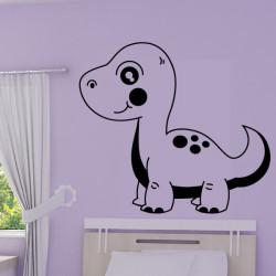 Sticker Bébé Dinosaure Allosaure