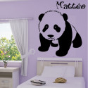 Sticker bébé panda