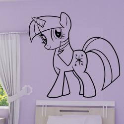 Sticker My Little Pony - Twilight Sparkle