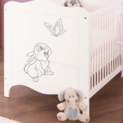 Sticker Bébé à Bord Petite Fille
